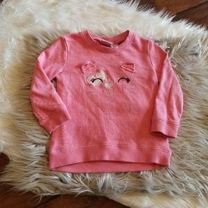 Koala kids kitty sweatshirt